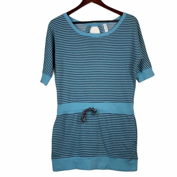 Jessica Simpson Active 80's retro Sweatshirt Dress